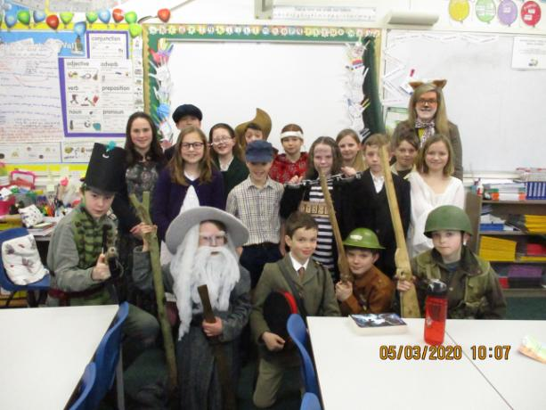 St Patrick World Book Day 5.3.2020